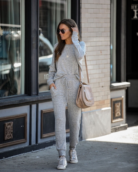 Top Drawer Pocketed Knit Joggers