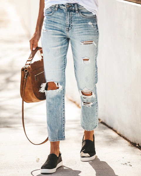 PREORDER - Tobi High Rise Relaxed Denim