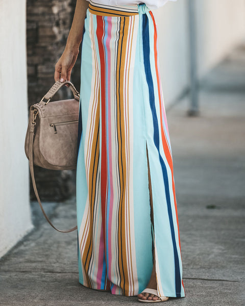 Live In Color Striped Pants