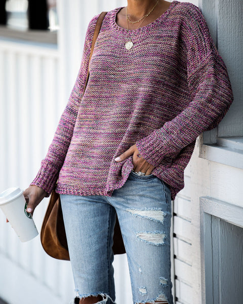 Making Traditions Knit Sweater - FINAL SALE