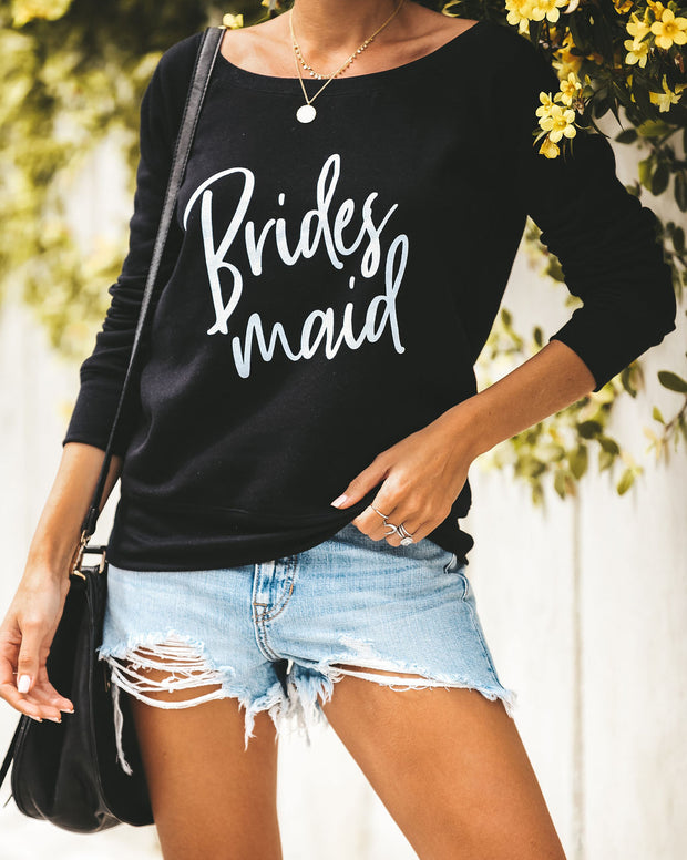 Bridesmaid Cotton Blend Pullover - FINAL SALE
