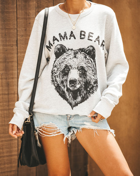 PREORDER - Cotton Blend Mama Bear Pullover