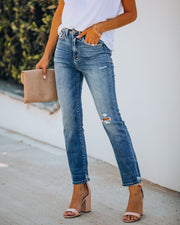 Friday High Rise Distressed Denim