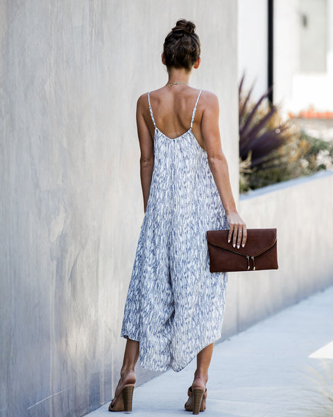 Ever Absent, Ever Near Pocketed Jumpsuit - FINAL SALE