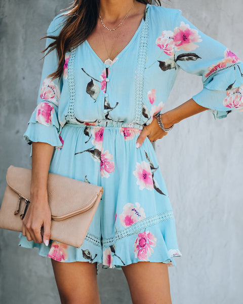 Trunk Show Floral Romper