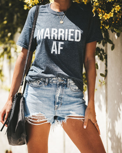 Married Cotton Blend Tee