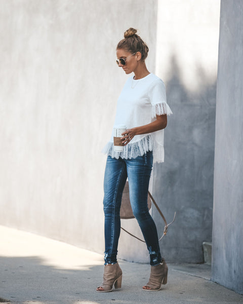 Everlee Lace Tee