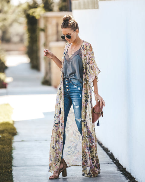 In The Limelight Duster Kimono