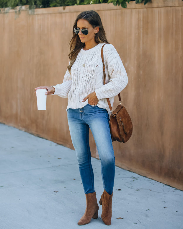 Pennie Cable Knit Sweater