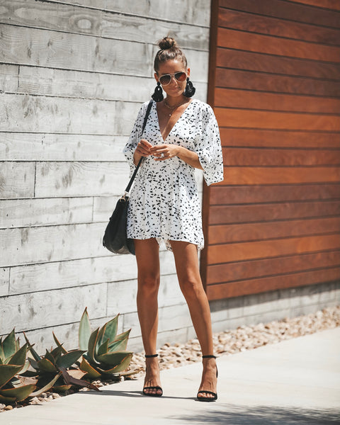 Can't Hardly Wait Printed Romper