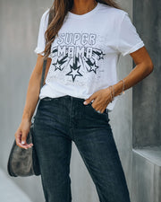 Star Power Super Mama Eco Blend Tee