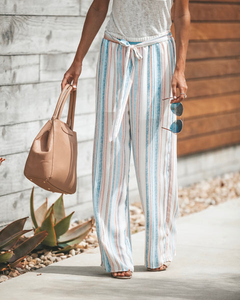 Arm Candy Tie Pants - FINAL SALE