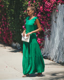 Evergreen Tiered Maxi Dress - FINAL SALE
