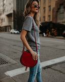 Serendipity Crossbody Bag - Red