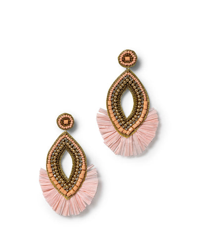 Julius Beaded Statement Earrings