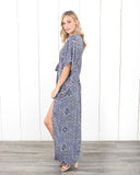 Western Winds Maxi Dress
