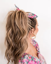 Layton Floral Scrunchie view 5