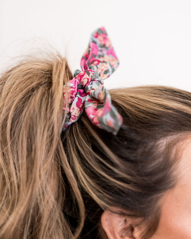 Layton Floral Scrunchie view 4