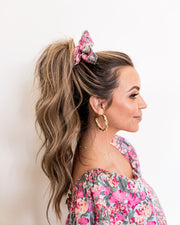 Layton Floral Scrunchie view 2