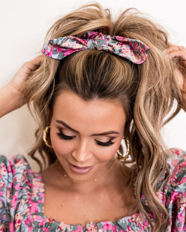 Layton Floral Scrunchie view 7