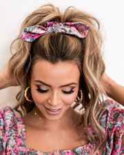 Layton Floral Scrunchie view 3