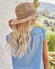 Leone Straw Panama Hat view 5