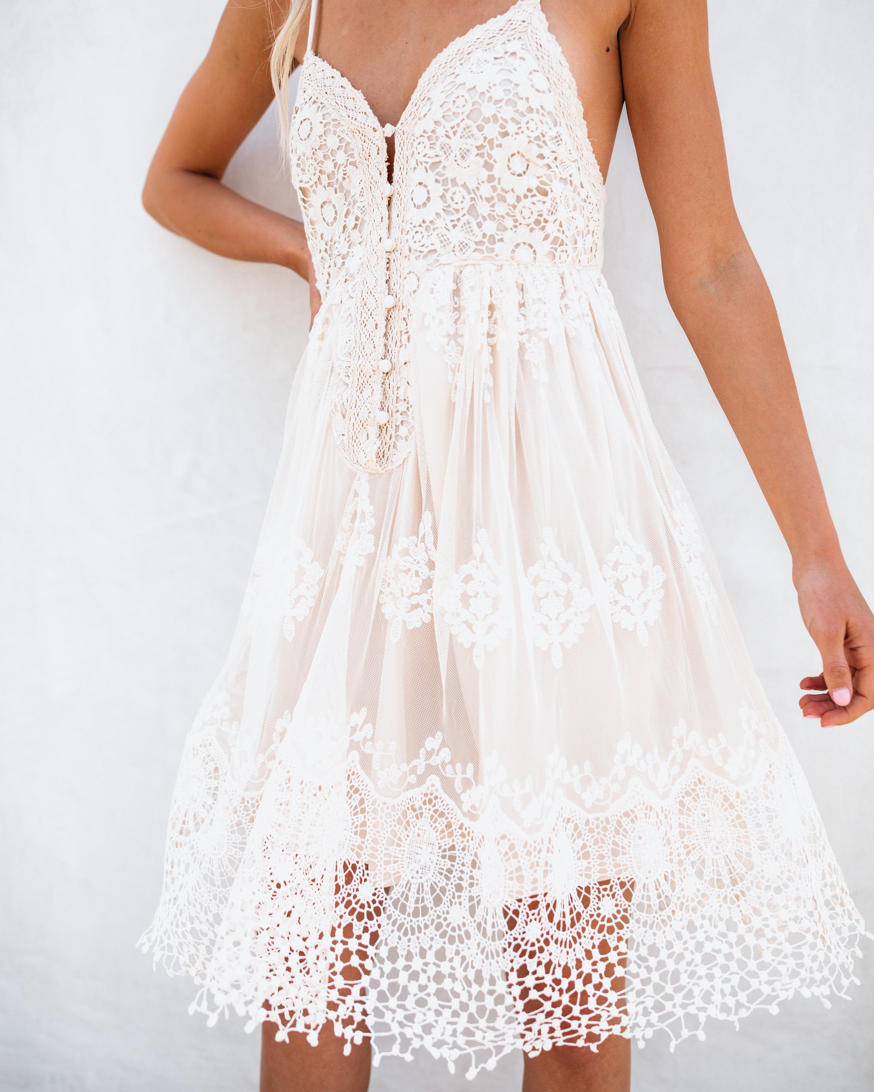 Once Upon A Dream Crochet Dress - FLASH SALE – VICI