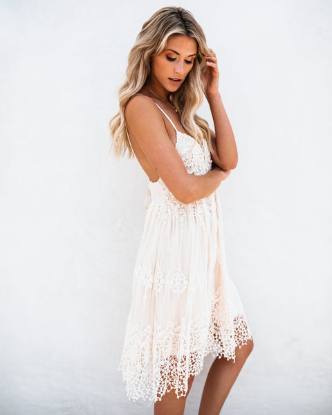 Once Upon A Dream Crochet Dress - FLASH SALE