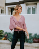 Cirrus Drape Top - Dusty Orchid - FINAL SALE