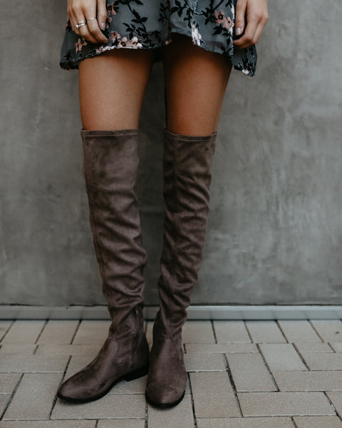 Isaac Over The Knee Boot
