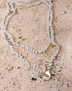MEGHAN BO DESIGNS - Faceted Charm Necklace - White