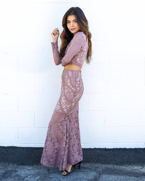 Antica Lace Maxi Skirt - FINAL SALE