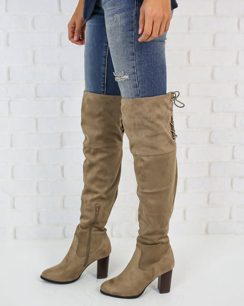 Lara Over The Knee Boot - FINAL SALE