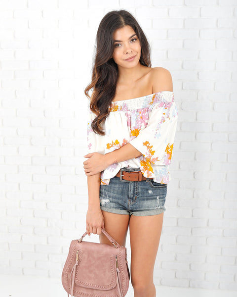 Betsy Off The Shoulder Top