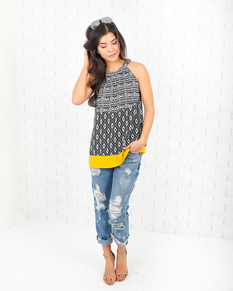 Hive Tribal Top