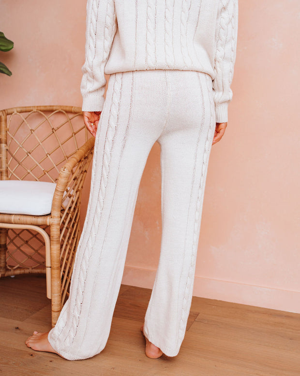 Love At Frost Sight Cable Knit Pants - FINAL SALE view 2