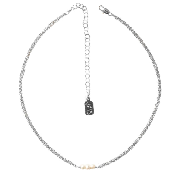 MARRIN COSTELLO - Triple Dot Choker - Silver