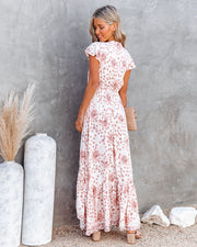 Made Of Sun High Low Pocketed Tie Maxi Dress view 2