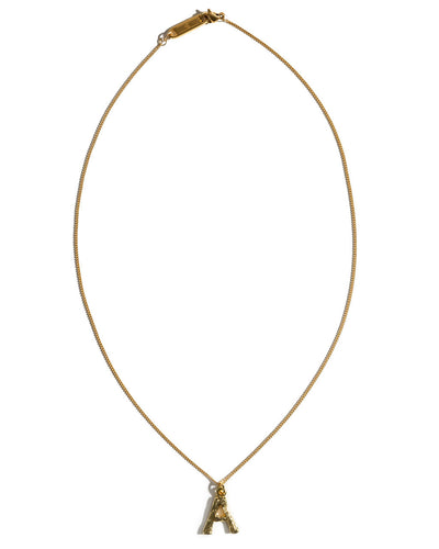 Marrin Costello - Bamboo Initial Pendant Necklace
