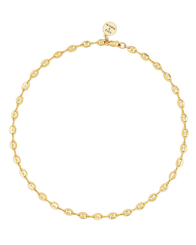 Meghan Bo Designs - Shayne Gold Link Necklace