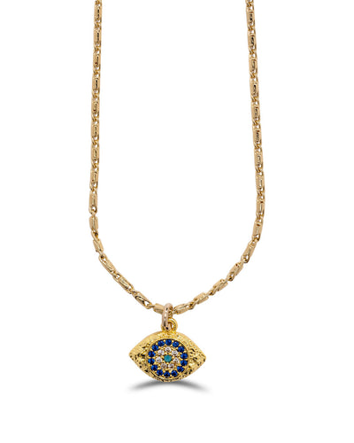 Meghan Bo Designs - Watchful Eye Necklace
