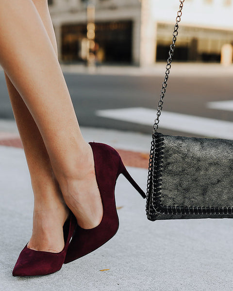 Mad About Merlot Heel