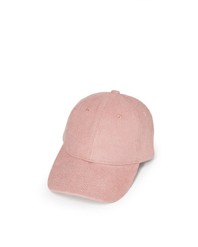 Mitt Corduroy Baseball Hat - Light Mauve