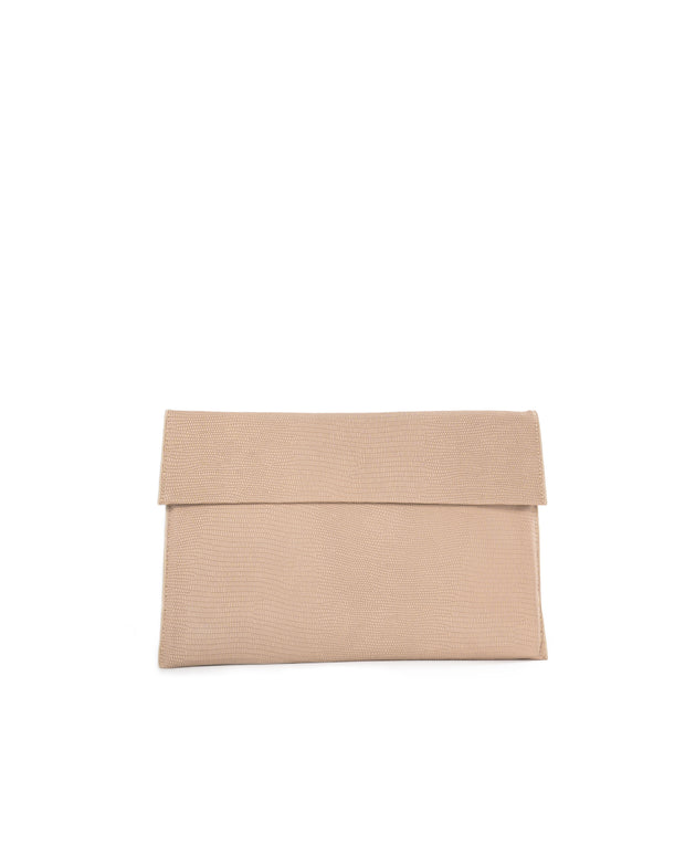 Molly Crossbody Clutch - Beige view 1