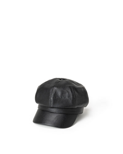 Nolita Faux Leather Cap
