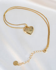 Olive + Piper - Amour Heart Pendant Necklace view 6