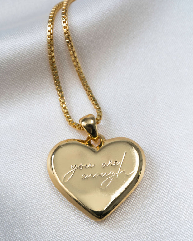Olive + Piper - Amour Heart Pendant Necklace view 4