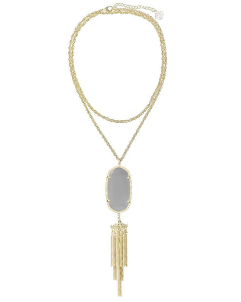 KENDRA SCOTT - Rayne Gold Necklace In Slate