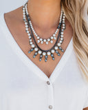 Pearly Nights Statement Necklace