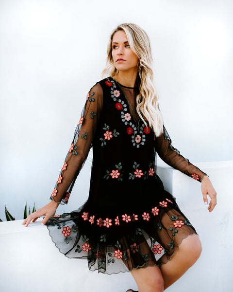 Rosanna Embroidered Dress
